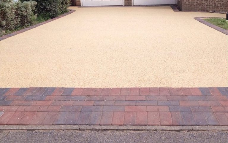 Resin Bond Driveways in Newton