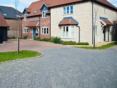Block paving companies in Castle Bytham